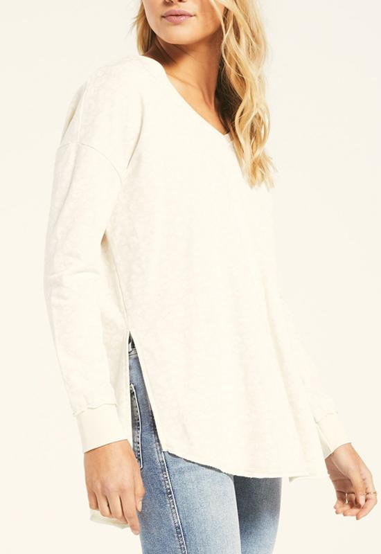 Z Supply - Bone V Neck Weekender Top