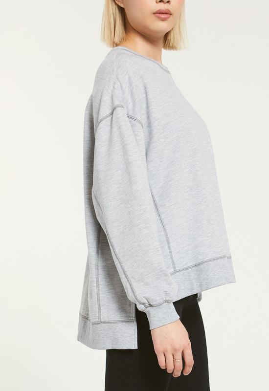Z Supply - Modern Weekender Heather Grey
