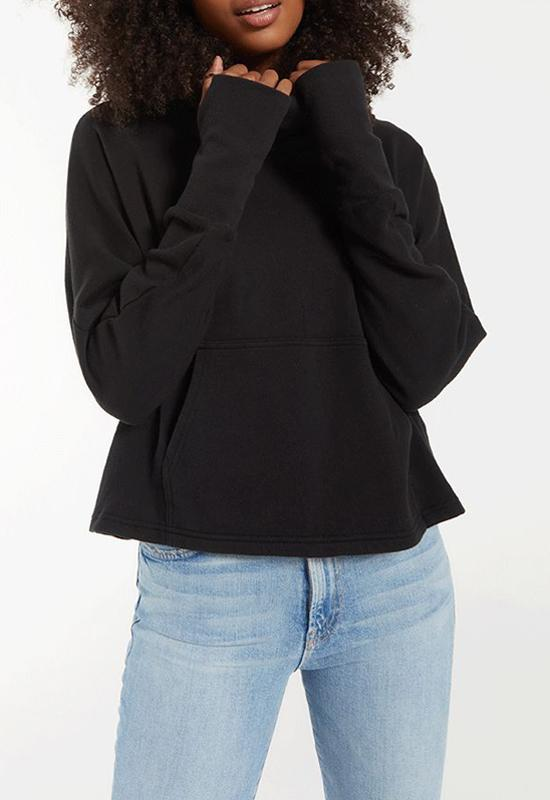 Z Supply - Easy Cowl Top Black