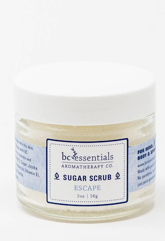 BC ESSENTIALS SUGARSCRUB-16OZ-ESCA SUGAR SCRUB 16OZ ESCAPE - SUGARSCRUB-16OZ-ESCA-BC ESSENTIALS