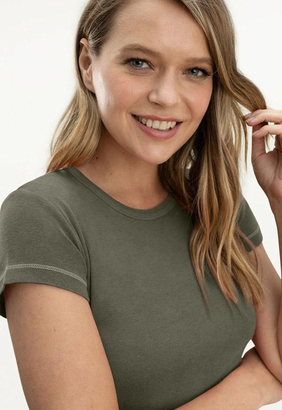 Splendid - Layering T-Shirt Olive Brown