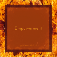 Empowerment Dressed Candle