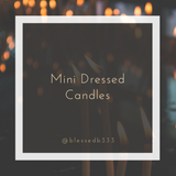 Mini Dressed Candles