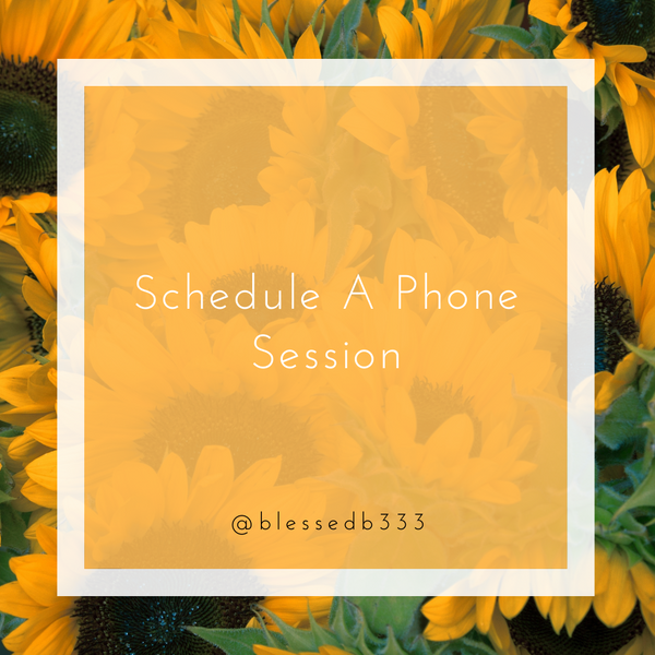 Schedule a Phone Session