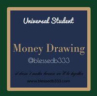 Money Drawing Dressed Candle