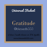 Gratitude Dressed Candle