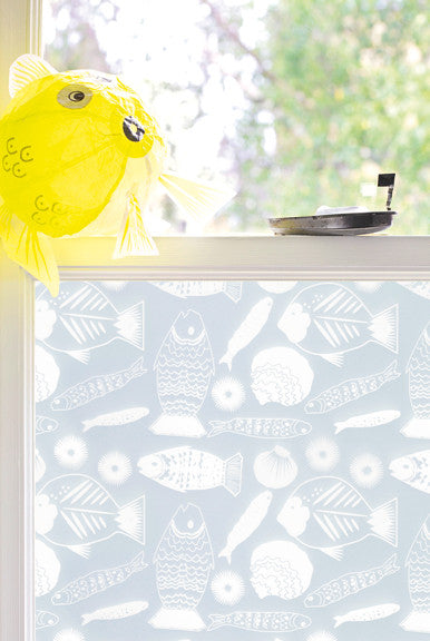 Pretty designer window film for the kid's room