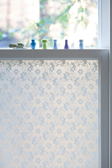 Emma Jeffs Pretty Window Film in Lace