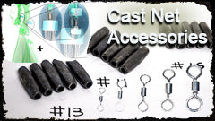 Cast Net Accessories - Lee Fisher Fishing Supply