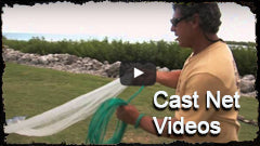 Cast Net Videos - Lee Fisher Fishing Supply