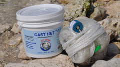 "Joy Fish cast net-1.25lb per ft  5/8"" sq mesh"