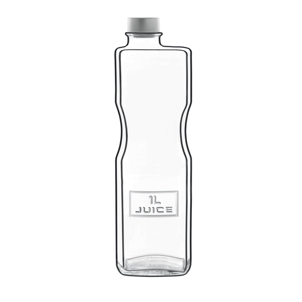 Optima 34 oz Juice Bottle with Airtight Screw Top (1 Piece) - Luigi Bormioli