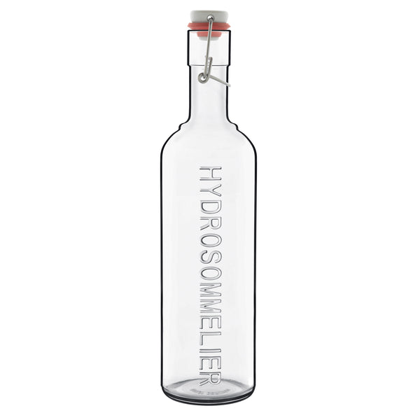 Optima 34 oz Hydrosommelier Bottle with Stainless Steel Airtight Closure (1 Piece) - Luigi Bormioli