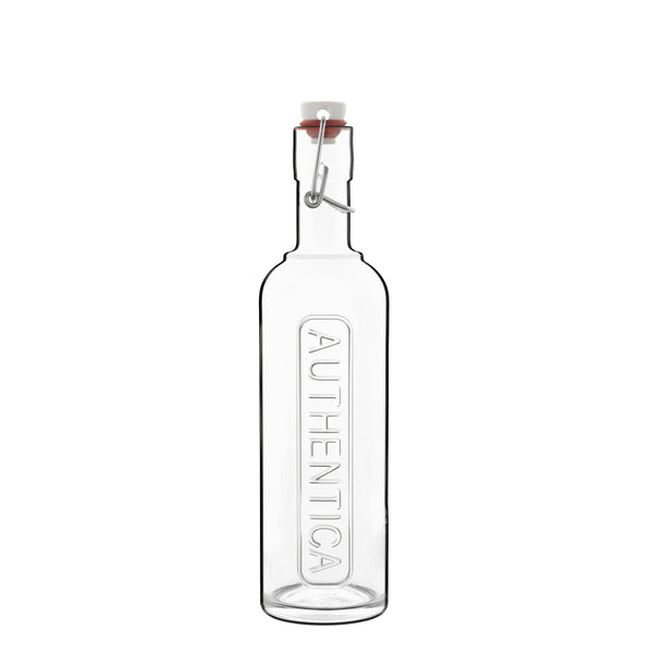 Optima 17 oz Authentica Bottle with Steel Airtight Closure (1 Piece) - Luigi Bormioli