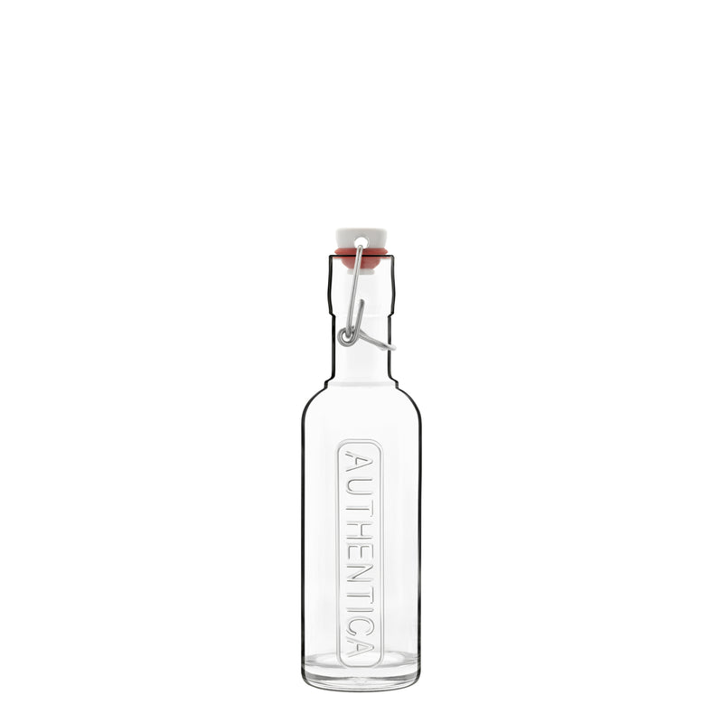 Optima 8.5 oz Authentica Bottle with Steel Airtight Closure (1 Piece) - Luigi Bormioli