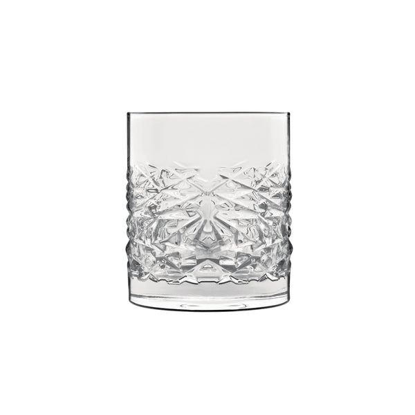 Mixology 12.75 oz Textures DOF Drinking Glasses (Set Of 4) - Luigi Bormioli