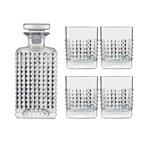 Mixology 5 Pieces Elixir Whisky / Liquor / Spirits Set (Set Of 5) - Luigi Bormioli USA