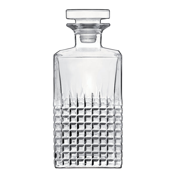 Mixology 25.25 oz Charme Spirits Decanter with Airtight Glass Stopper (1 Piece) - Luigi Bormioli