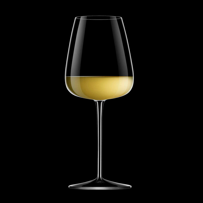 Talismano  18.5 oz Chardonnay Grand Cru White Wine Glasses (Set of 4) - Luigi Bormioli