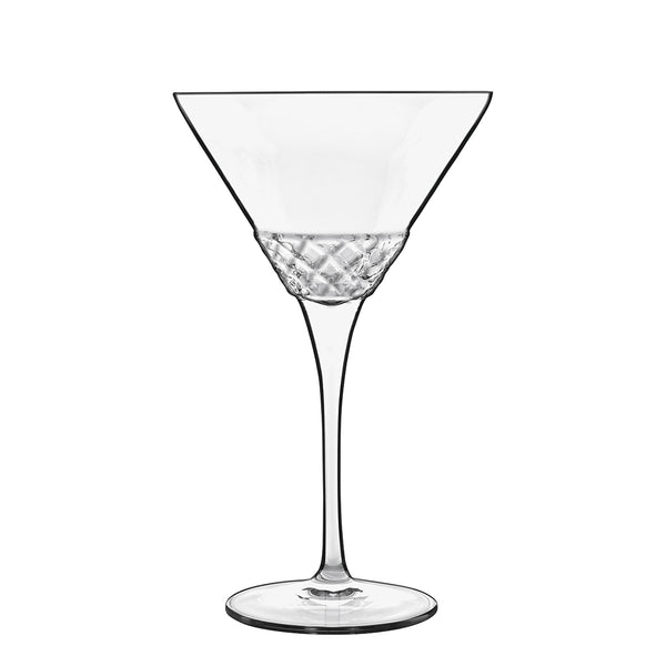 Roma 1960 7.5 oz Martini  Glasses (Set Of 4) - Luigi Bormioli