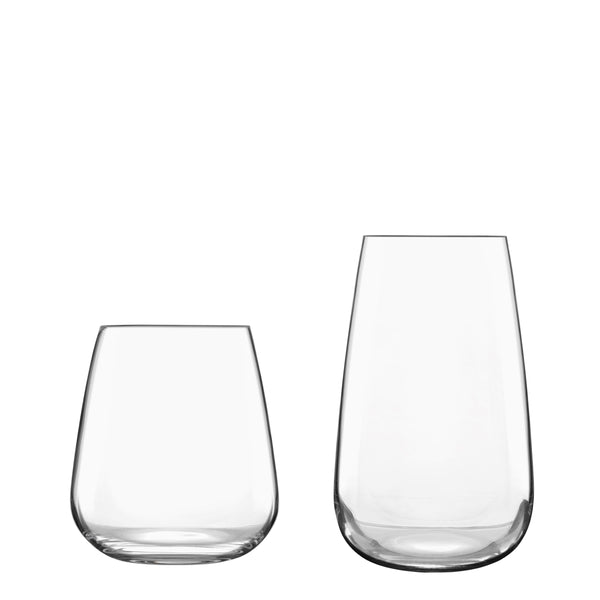 Talismano 8pc Barware Set (4 DOF Glasses & 4 Beverage Glasses) - Luigi Bormioli