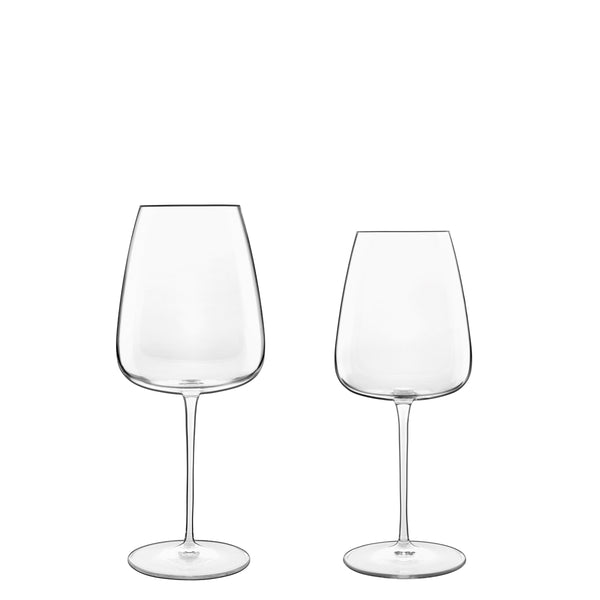 Talismano 8pc Stemware Set (4 Bordeaux Glasses & 4 Chardonnay Glasses) - Luigi Bormioli