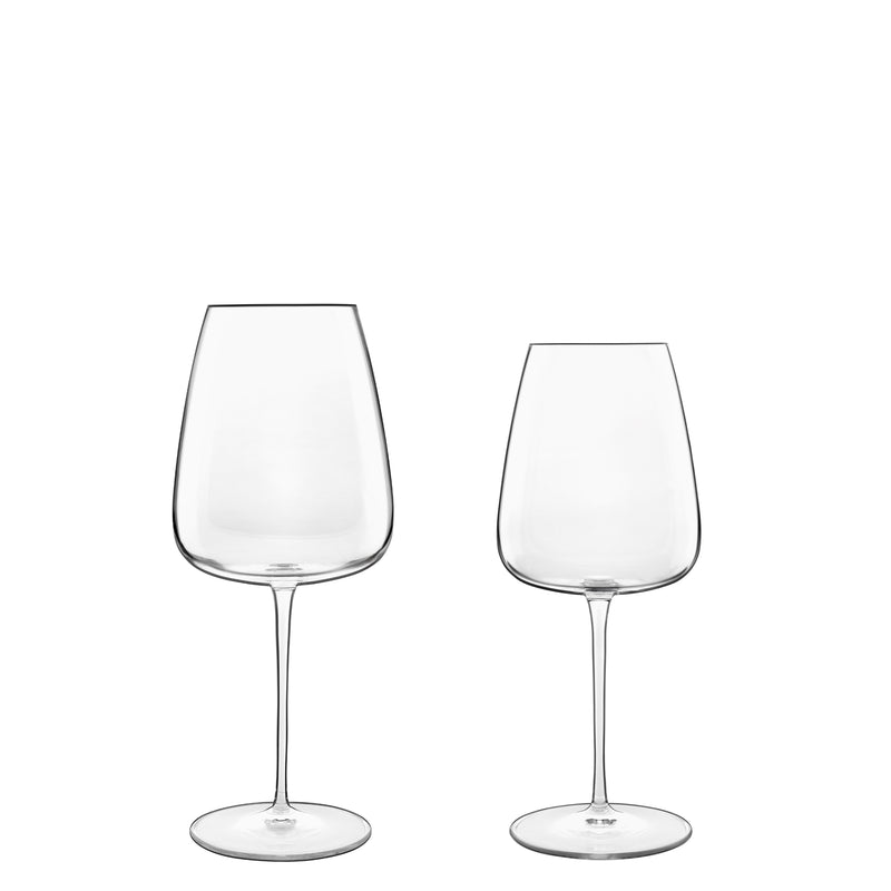 Talismano 8pc Stemware Set (4 Bordeaux Glasses & 4 Chardonnay Glasses) - Luigi Bormioli USA