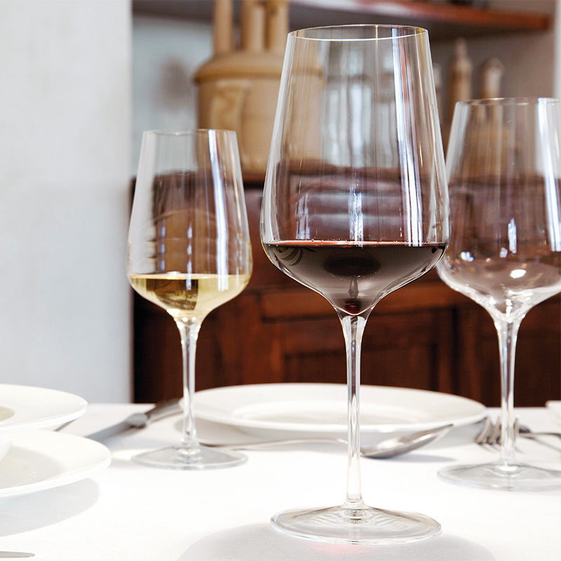 Intenso No.450 15.25 oz White Wine Glasses (Set Of 6) - Luigi Bormioli USA