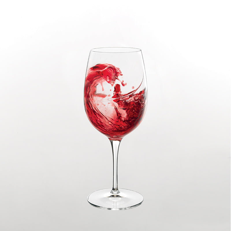 Aero 12.25 oz Red Wine Glasses (Set Of 6) - Luigi Bormioli USA