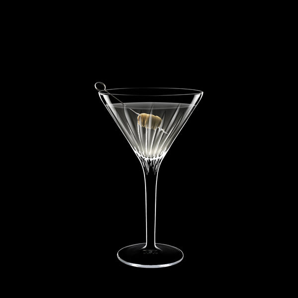 Mixology 7.25 oz Martini or Cocktail Glasses (Set Of 4) - Luigi Bormioli USA