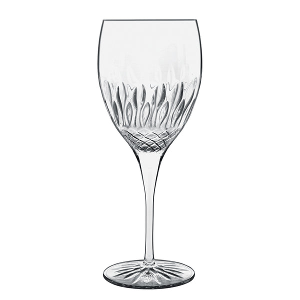 Diamante 17.5oz Chianti Red Wine Glasses (Set Of 4) - Luigi Bormioli USA