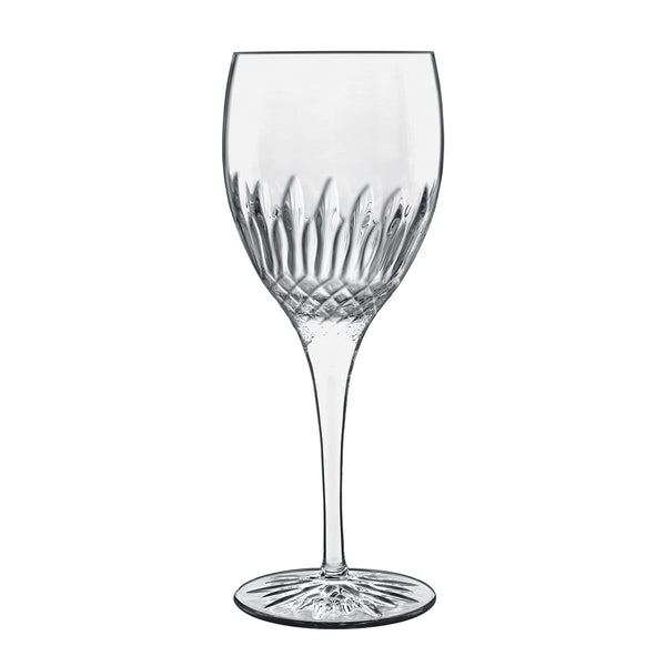Diamante 12.75oz Riesling White Wine Glasses (Set Of 4) - Luigi Bormioli USA