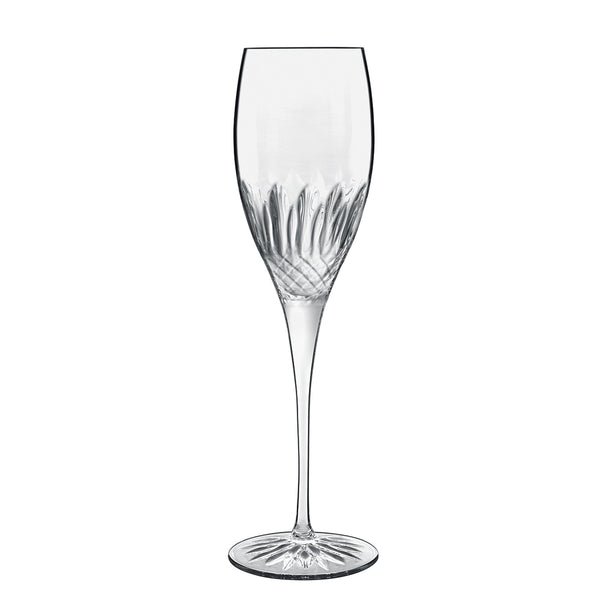 Diamante 7.5oz Champagne/Prosecco Glasses (Set Of 4) - Luigi Bormioli