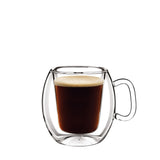 Thermic Glass 10.25oz Coffee Glasses (Set of 2) - Luigi Bormioli USA