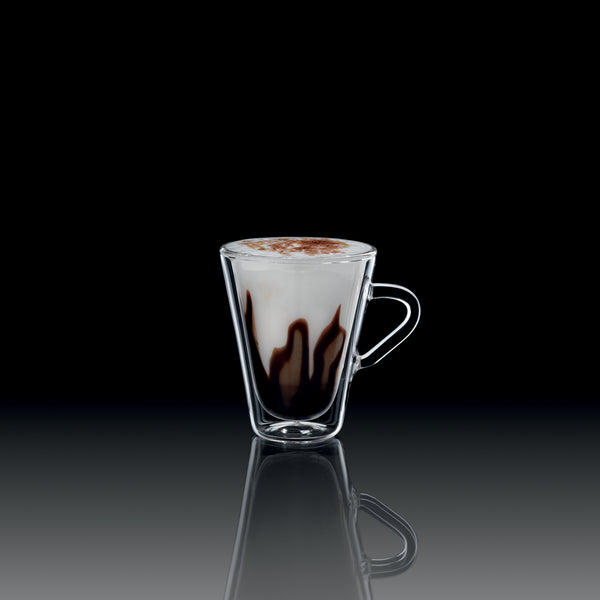 Thermic Glass 3.5 oz Espressino Glasses (Set of 2) - Luigi Bormioli