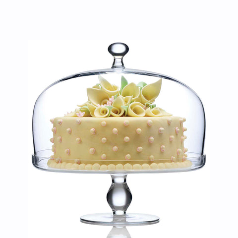 Close. Product Image. PrevNext. Beautifully designed Footed Cake Plate with Dome.  sc 1 st  Luigi Bormioli & Michelangelo Footed Cake Plate With Dome u2013 Luigi Bormioli