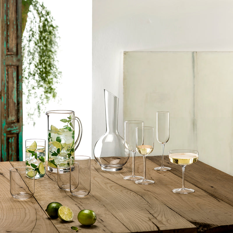 Sublime 9.5 oz White Wine Glasses (Set Of 4) - Luigi Bormioli USA