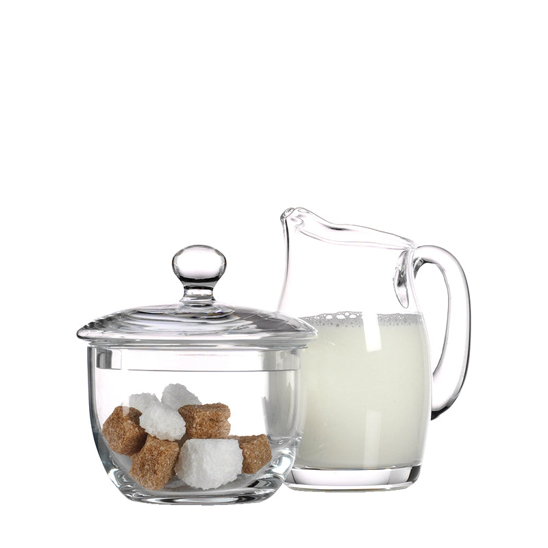 Luigi Bormioli Michelangelo Sugar and Creamer Set (2 Pieces) - Luigi Bormioli USA