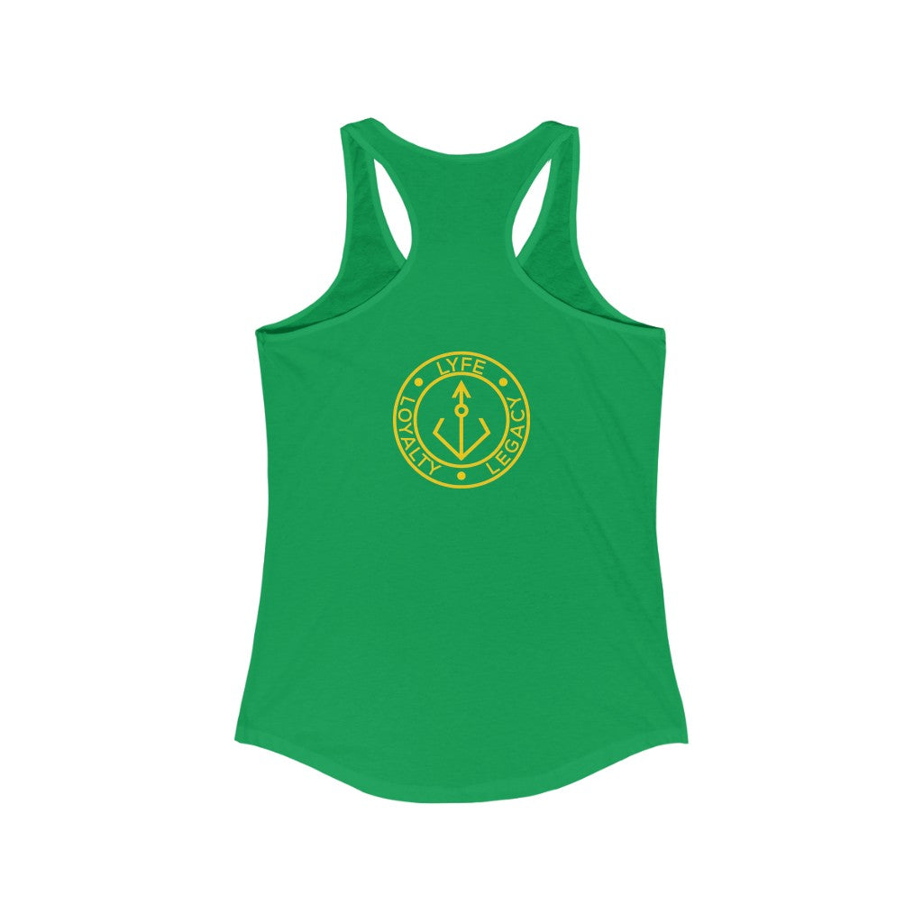 We Are The New Ancestors Racerback Tank