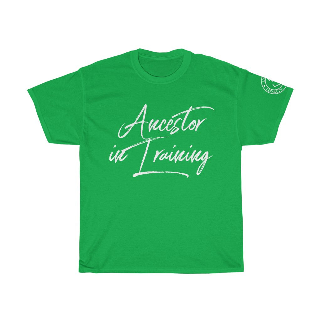 Unisex Adult Ancestor in Training Heavy Cotton Tee