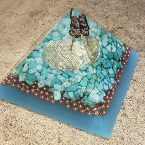 Medium Orgonite Pyramid