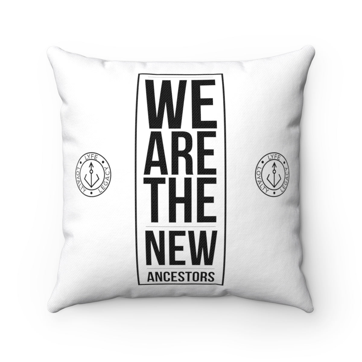 We Are The New Ancestor Square Pillow