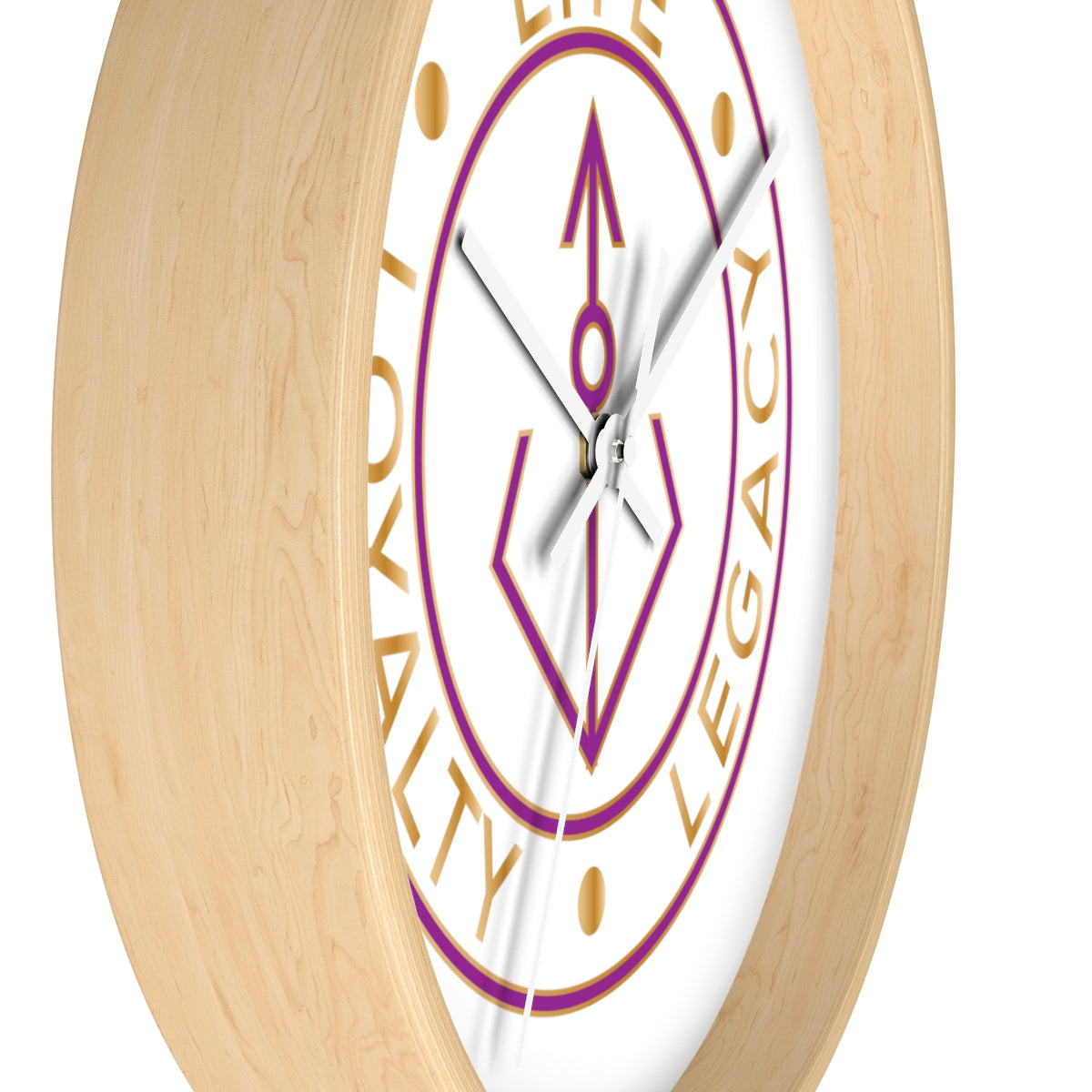 Loyalty Lyfe Legacy Wall clock