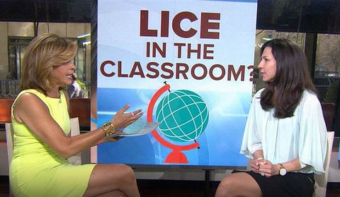 Today Show Lice in the Classroom