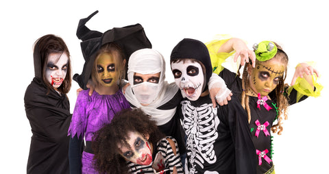 halloween kids head lice