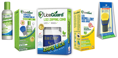LiceGuard Product Spread