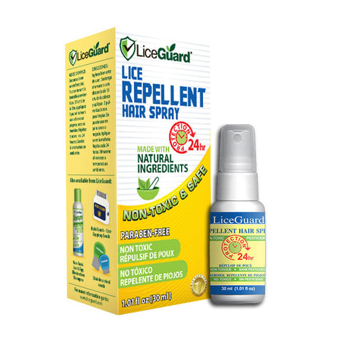 LiceGuard Lice Repellent Spray Box