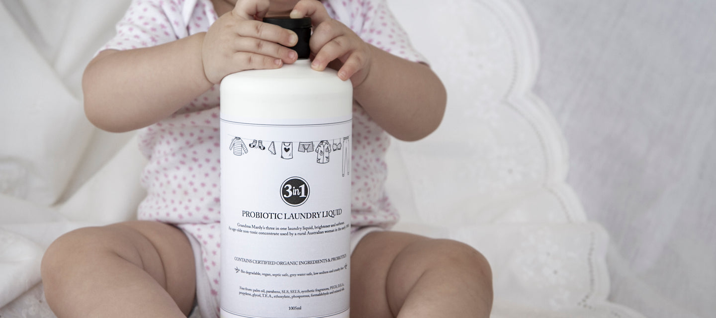 Bio degradable & Palm Oil Free Laundry Liquid | The Probiotic Line