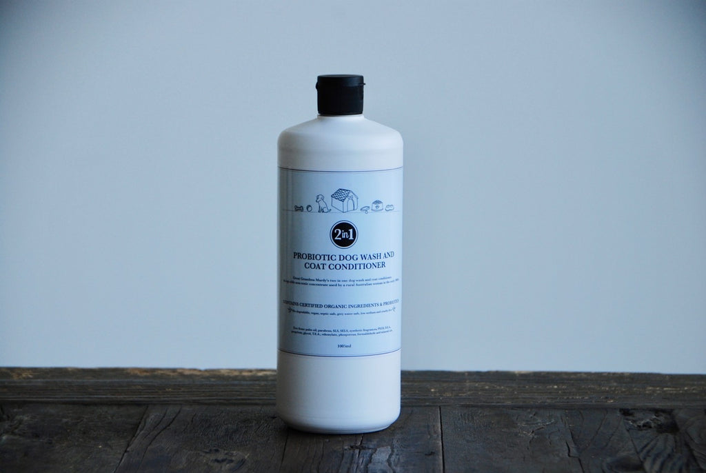 Probiotic Dog Wash and Coat Conditioner - Bio degradable & Palm Oil Free Laundry Liquid | The Probiotic Line