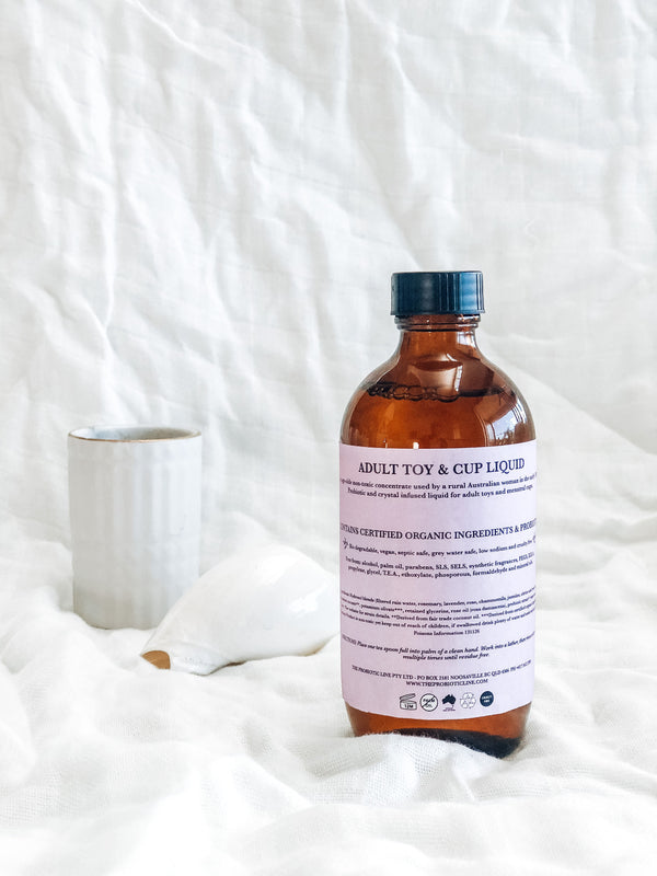 Adult Toy and Cup Liquid - Bio degradable & Palm Oil Free Laundry Liquid | The Probiotic Line